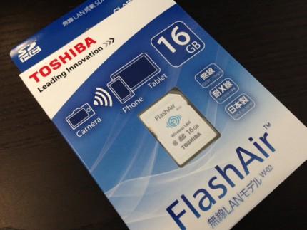 東芝FlashAirを購入しました
